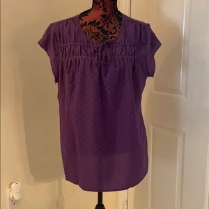 Women's Purple Blouse Brand New Size XL